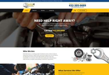 Dashfleet Website Design and Development